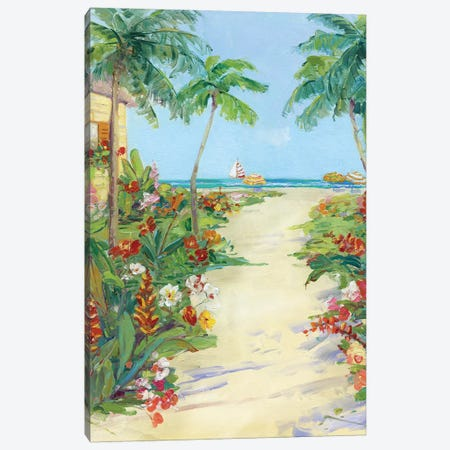 It's 5 o'clock Somewhere I Canvas Print #SWA143} by Sally Swatland Canvas Wall Art