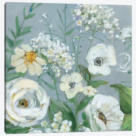 Painterly Garden I Canvas Print #SWA145} by Sally Swatland Canvas Print