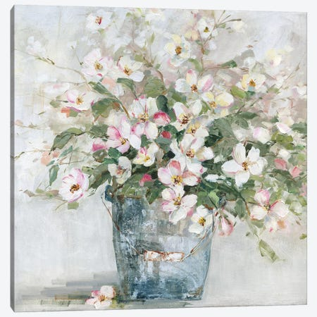 Rustic Arrangement Canvas Print #SWA149} by Sally Swatland Canvas Artwork