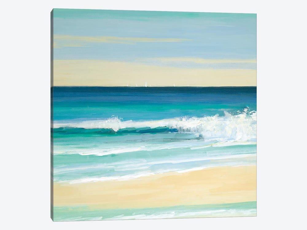 Sunny Seaside IV by Sally Swatland 1-piece Art Print