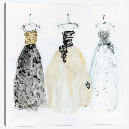 Bling Night Out I 3-Piece Canvas #SWA156} by Sally Swatland Canvas Wall Art