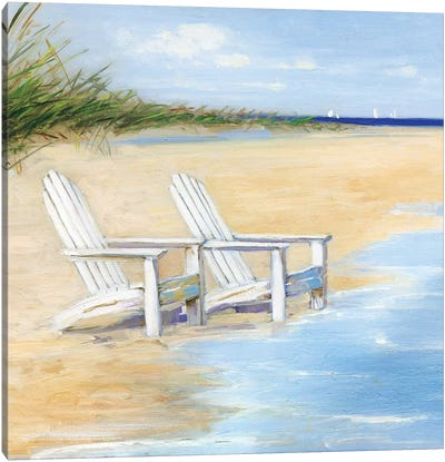 Water View Canvas Art Print