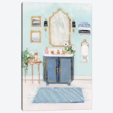 Blue Bath II Canvas Print #SWA167} by Sally Swatland Canvas Art Print