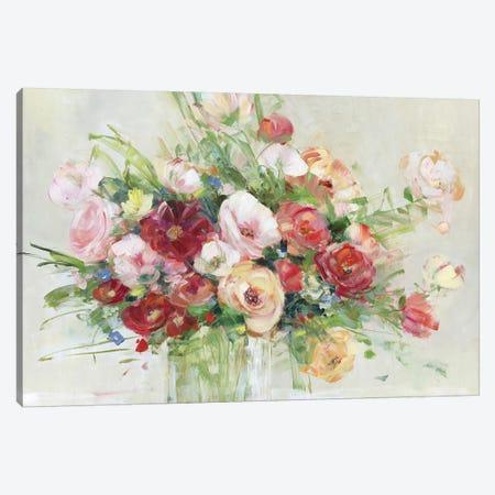 Just Peachy Canvas Print #SWA170} by Sally Swatland Art Print