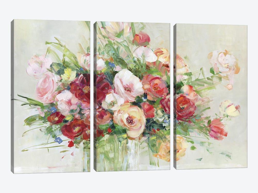 Just Peachy by Sally Swatland 3-piece Art Print