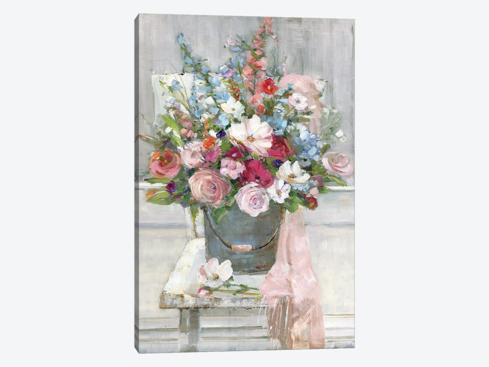 Sit Down For A Spell by Sally Swatland 1-piece Canvas Art Print