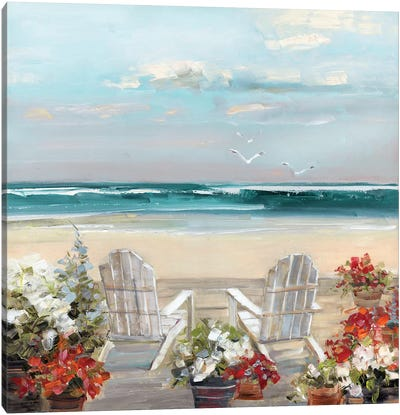 Summer Sea Breeze Canvas Art Print