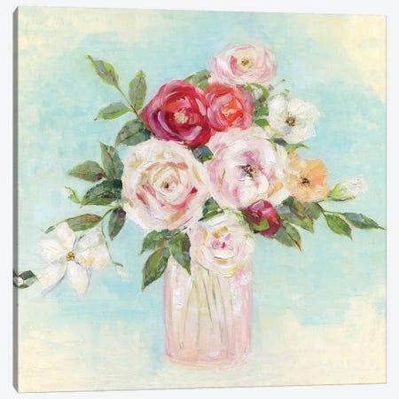 Arrangement of Spring I Canvas Print #SWA179} by Sally Swatland Art Print