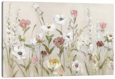 Bloomin Around Canvas Art Print