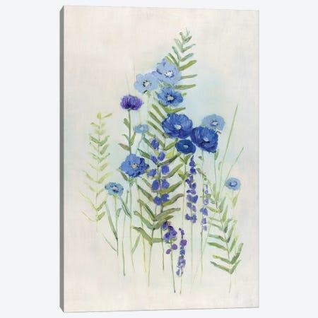 Cottage Wildflowers II Canvas Print #SWA187} by Sally Swatland Canvas Print
