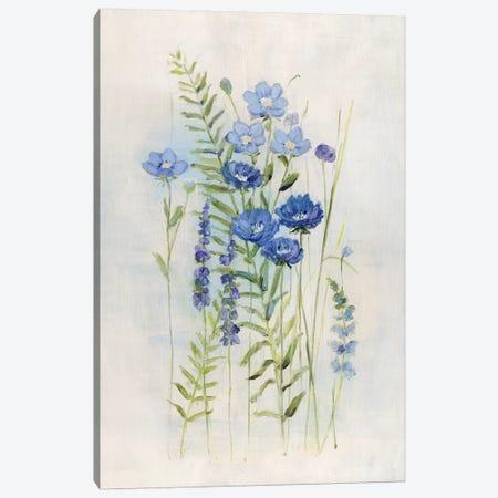 Cottage Wildflowers III Canvas Print #SWA188} by Sally Swatland Canvas Art
