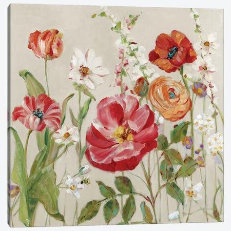 Garden Menagerie II Canvas Print #SWA190} by Sally Swatland Art Print