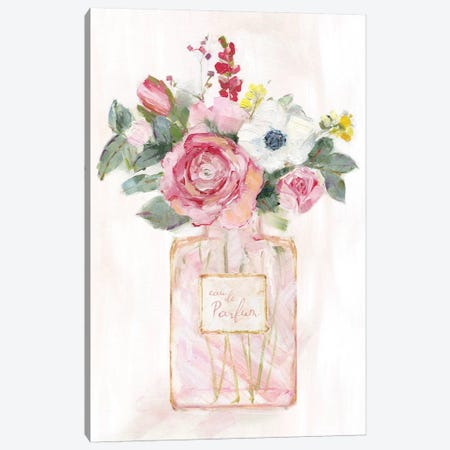Perfume Bouquet I Canvas Print #SWA194} by Sally Swatland Canvas Artwork