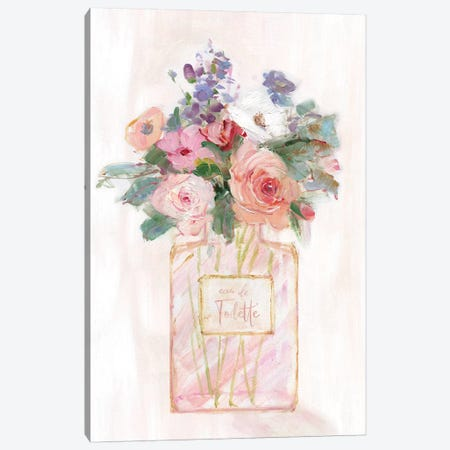 Perfume Bouquet II Canvas Print #SWA195} by Sally Swatland Canvas Artwork