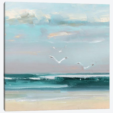 Summer Soar Canvas Print #SWA197} by Sally Swatland Canvas Wall Art