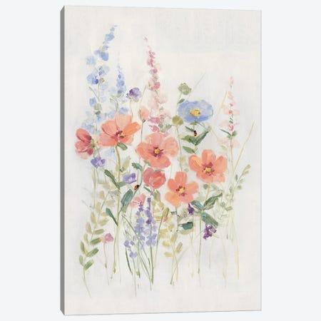 Sweet Summer Picks I Canvas Print #SWA198} by Sally Swatland Art Print