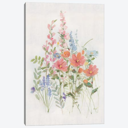 Sweet Summer Picks II Canvas Print #SWA199} by Sally Swatland Canvas Print