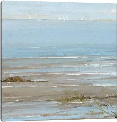 Afternoon On The Shore I Canvas Art Print