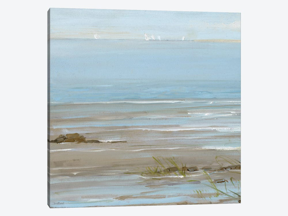 Afternoon On The Shore I by Sally Swatland 1-piece Art Print