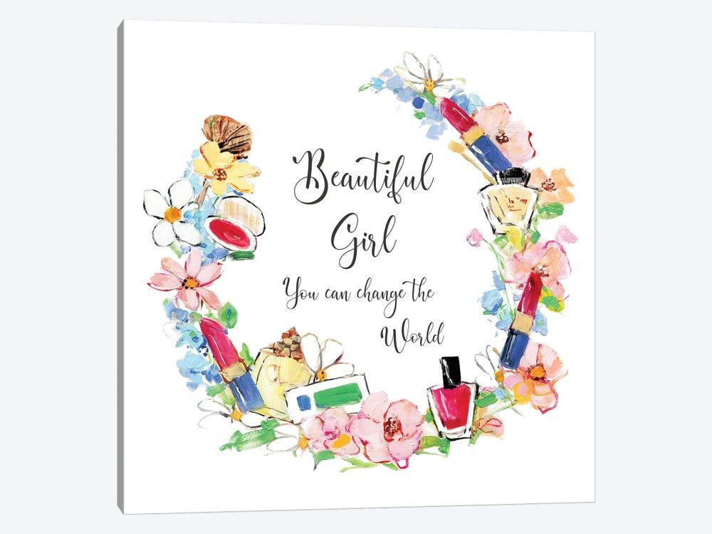 Beautiful Girl by Sally Swatland 1-piece Canvas Artwork