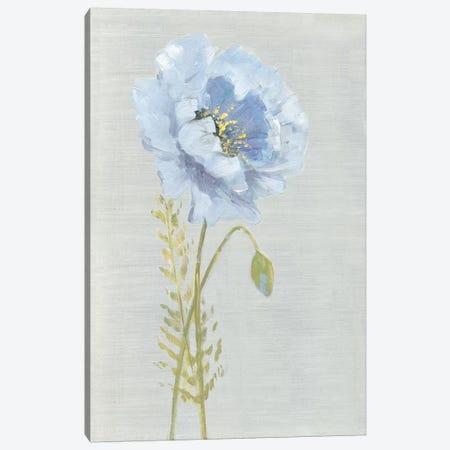 Jardin Bleu I Canvas Print #SWA218} by Sally Swatland Canvas Art