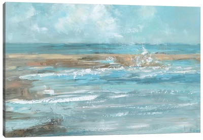 Breaking Waves Canvas Art Print