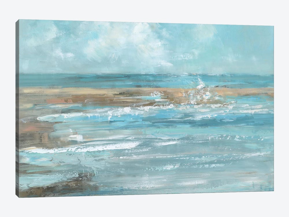 Breaking Waves by Sally Swatland 1-piece Canvas Artwork