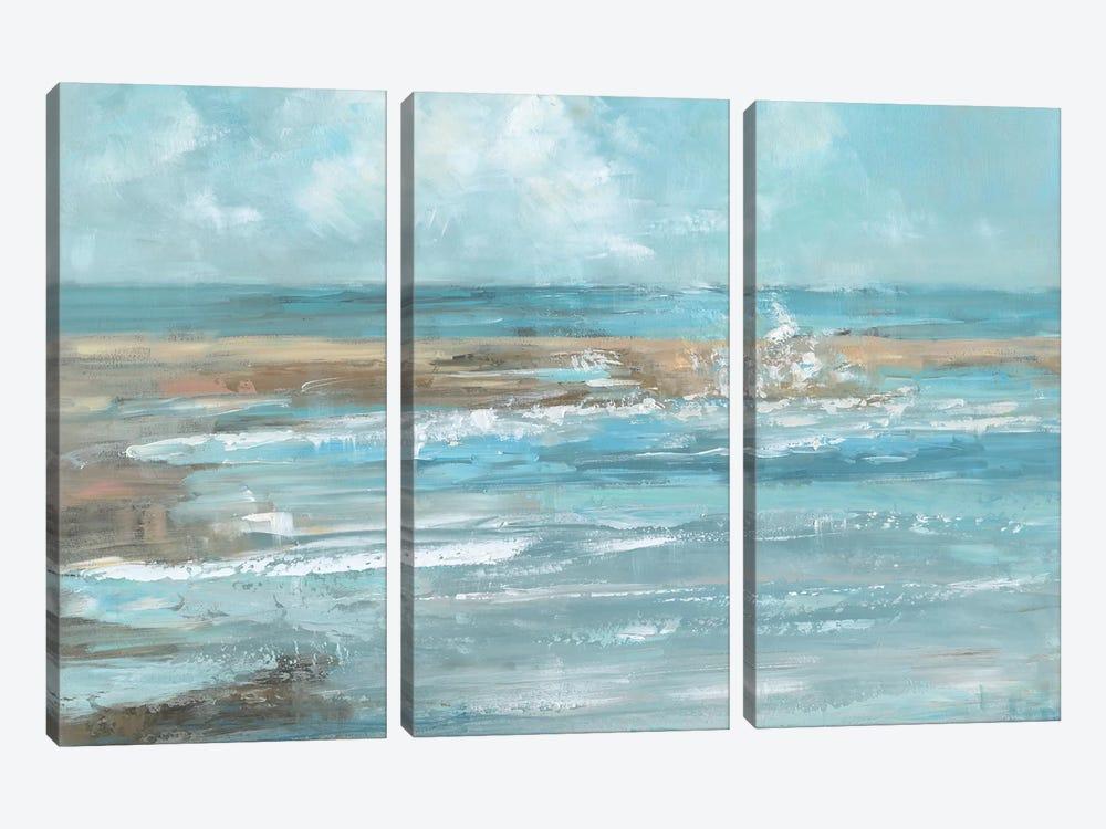 Breaking Waves by Sally Swatland 3-piece Canvas Wall Art