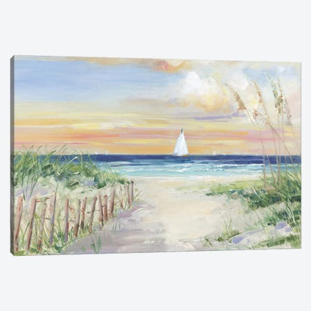 Set Sail Canvas Print #SWA225} by Sally Swatland Canvas Artwork