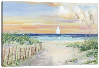 Set Sail Canvas Art Print