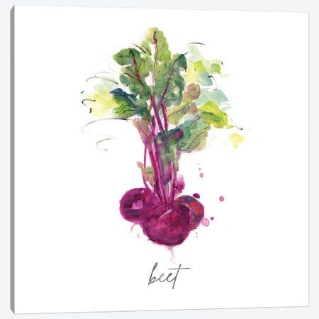 Sketch Kitchen Beet Canvas Print #SWA228} by Sally Swatland Canvas Print