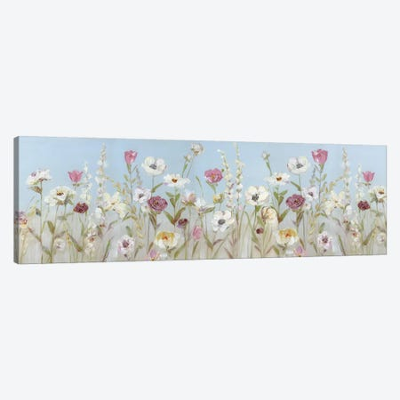 Spring Blooms Canvas Print #SWA231} by Sally Swatland Canvas Wall Art