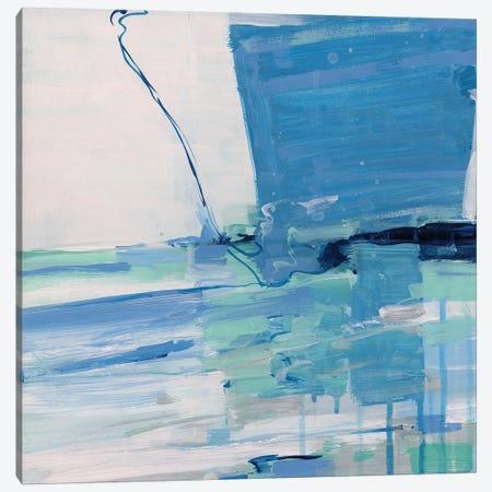 Summer Seas Canvas Print #SWA234} by Sally Swatland Canvas Print