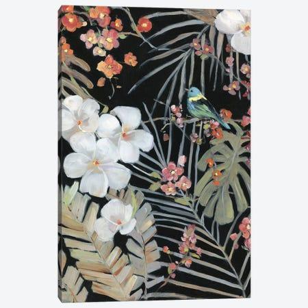 Tropical Midnight II Canvas Print #SWA236} by Sally Swatland Art Print