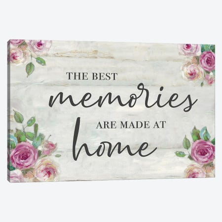 Memories at Home Canvas Print #SWA237} by Sally Swatland Canvas Print