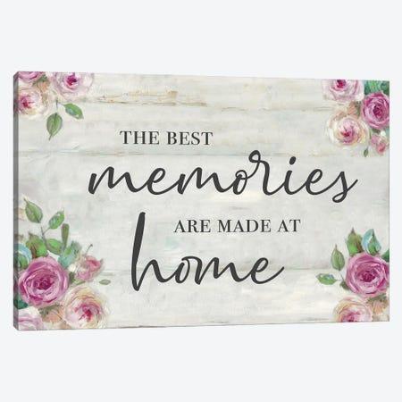 Memories at Home Canvas Print #SWA237} by Sally Swatland Canvas Print