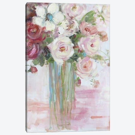 Botanical Blooms Canvas Print #SWA240} by Sally Swatland Canvas Print