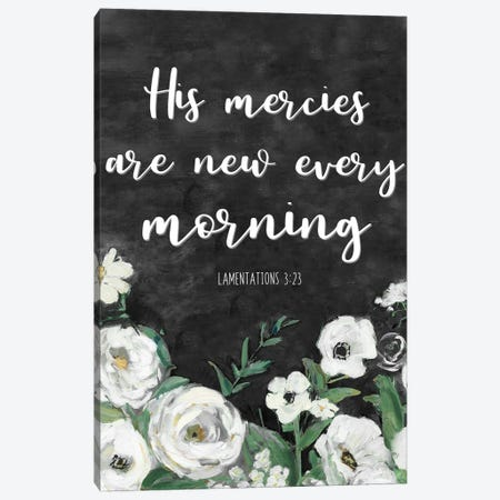 His Mercies Canvas Print #SWA249} by Sally Swatland Canvas Art Print
