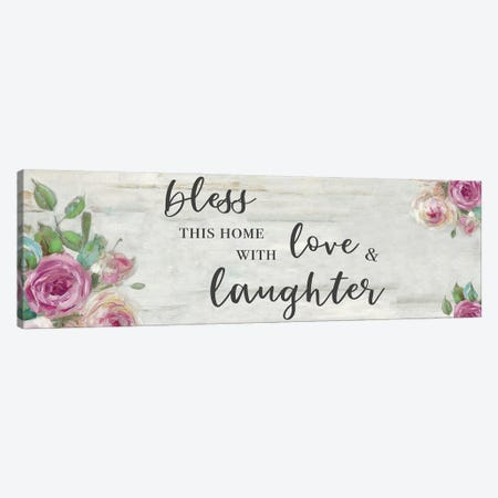 Love and Laughter Canvas Print #SWA250} by Sally Swatland Canvas Art