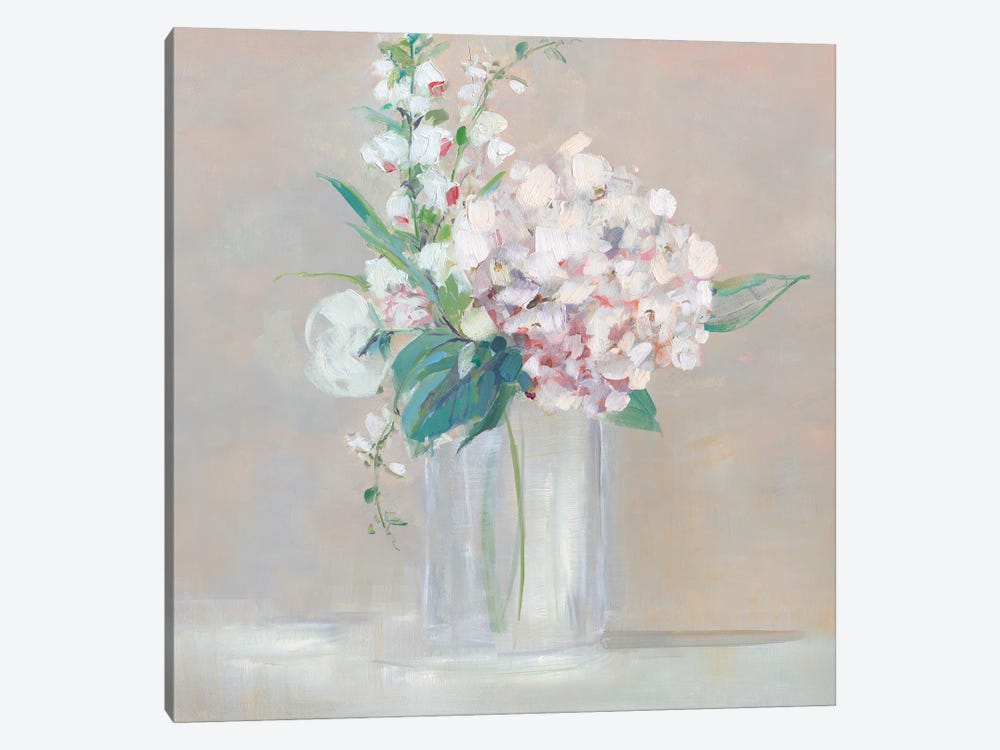 Simply Elegant Coral Berry I by Sally Swatland 1-piece Canvas Print