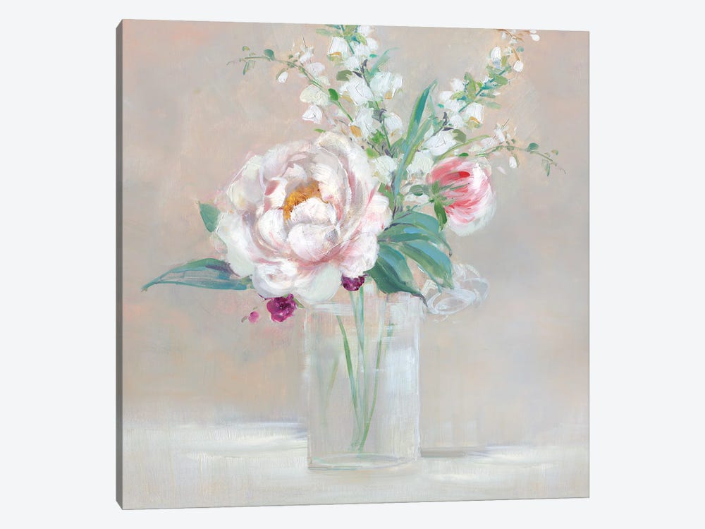 Simply Elegant Coral Berry II by Sally Swatland 1-piece Canvas Wall Art