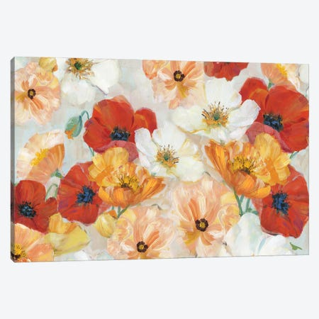 Summer Spice Canvas Print #SWA256} by Sally Swatland Art Print