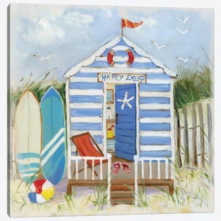 Happy Days Canvas Print #SWA25} by Sally Swatland Canvas Art Print
