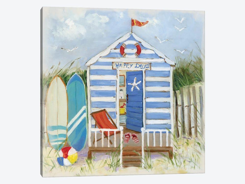 Happy Days by Sally Swatland 1-piece Canvas Art