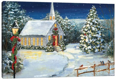 Holy Night Canvas Art Print