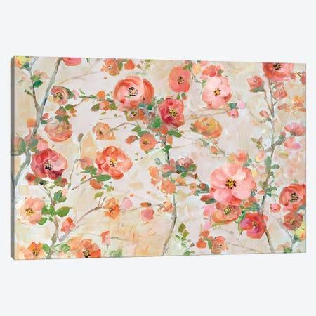 Blossom Bright Canvas Print #SWA267} by Sally Swatland Canvas Artwork