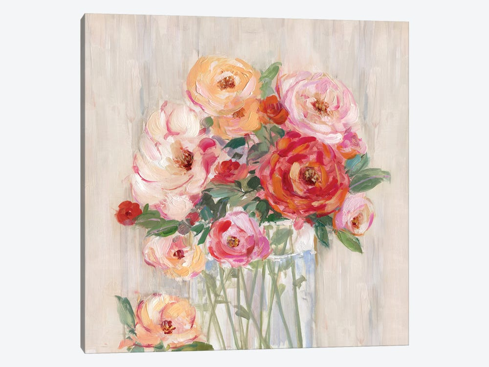 Just Peachy I by Sally Swatland 1-piece Canvas Art Print