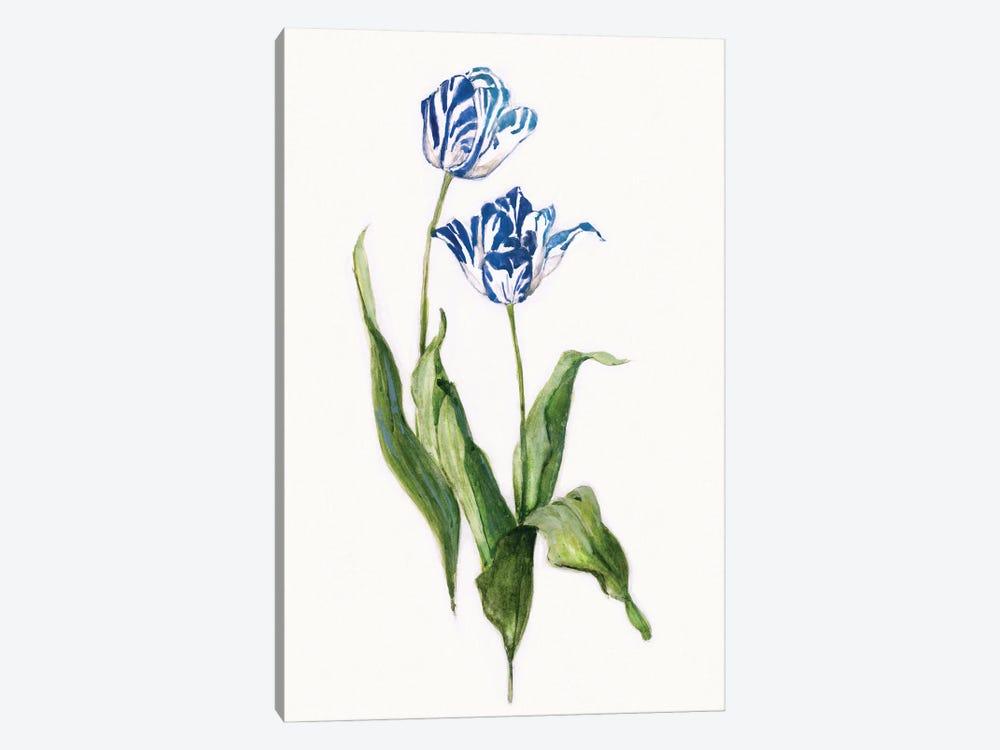 Blue Lively Botanical II by Sally Swatland 1-piece Canvas Print