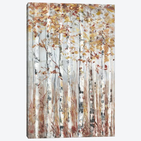 Copper Forest Canvas Print #SWA273} by Sally Swatland Canvas Art