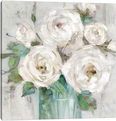 Cottage Whites Canvas Art Print
